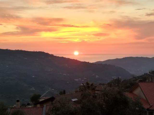 Sunset apartments