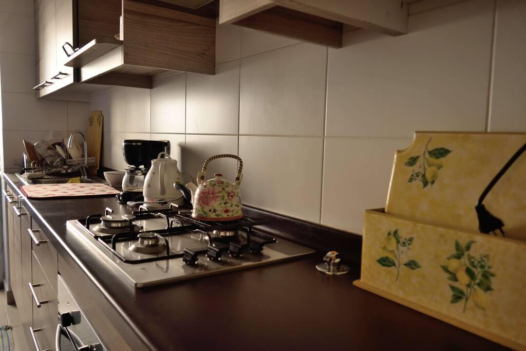 Cocina totalmente equipada /Fully equipped Kitchen