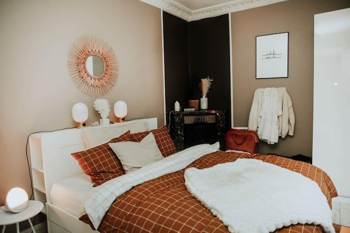 Bright, Luxurious & Nordic Styled Studio Apartment