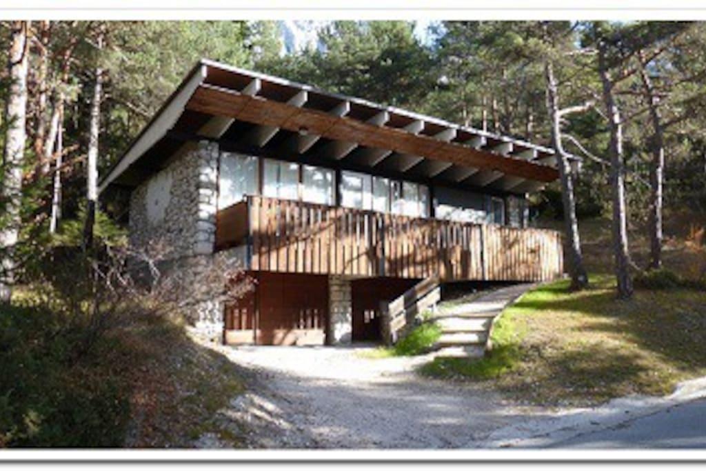 Villa presso cortina d 39 ampezzo chalet in affitto a for Affitto chalet cortina