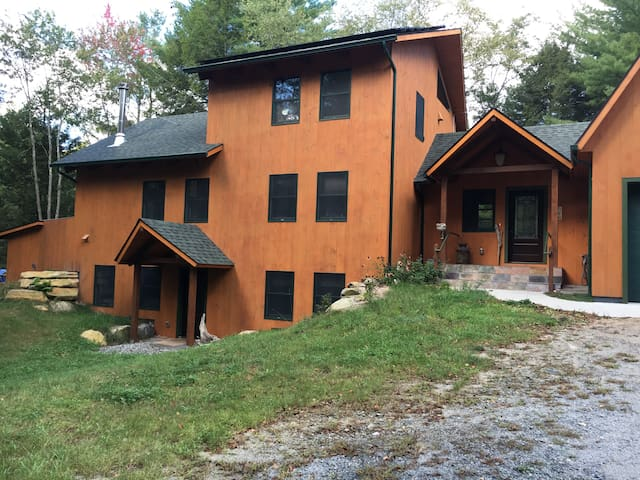 Quiet kid-friendly country home: lower level - Otis - Haus