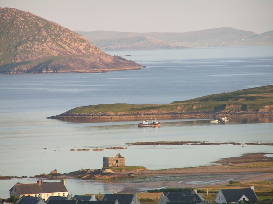 View including McCarthy's Castle from Saoirse