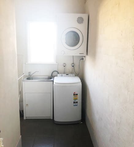 Full Laundry with washer & dryer