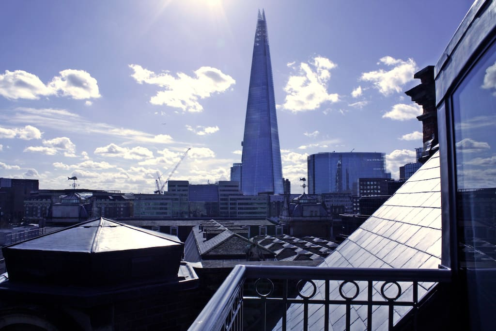 Balcony & View of the Shard