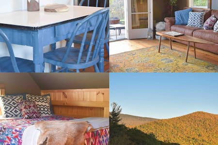 Vermont Mountainside Cabin- Nature +  Epic Views