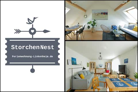 📌 Duo-Appartement 9 Pers. - Nähe Karlsruhe + KIT