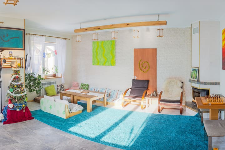 ECO House 3 Rooms&Studio 3Floor 170sq.m. 7km Kyiv
