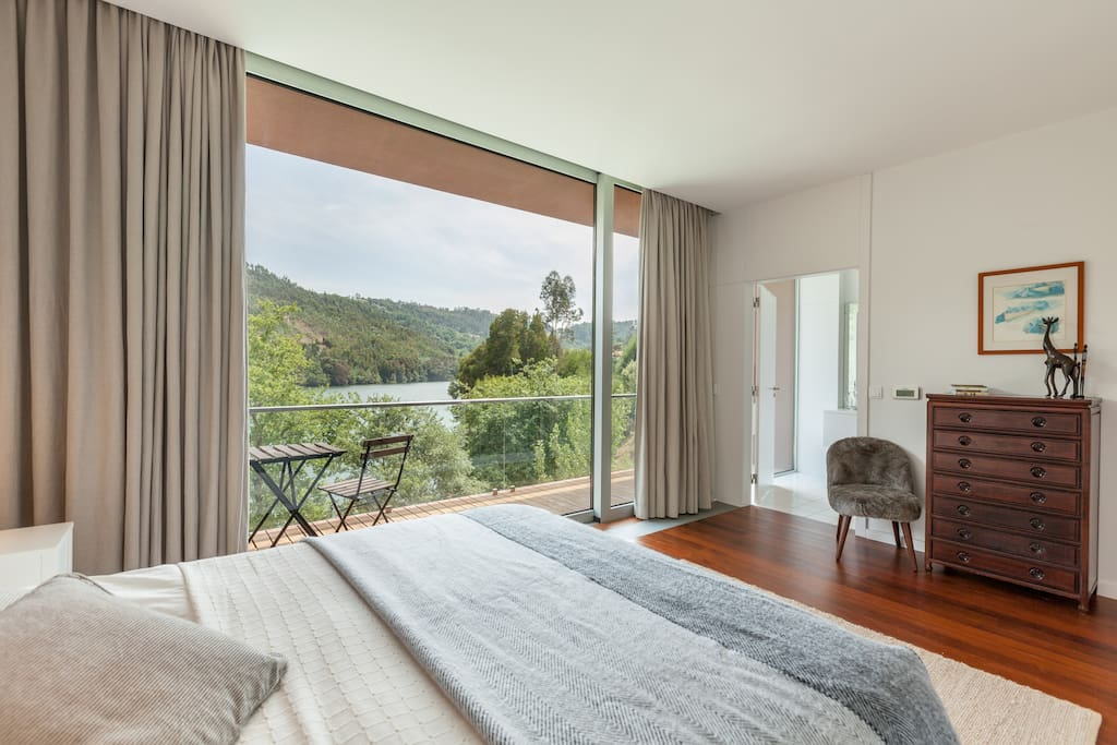 The Master en suite with stunning views