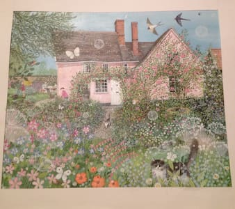 Lovely old timber framed cottage - Suffolk - Rumah