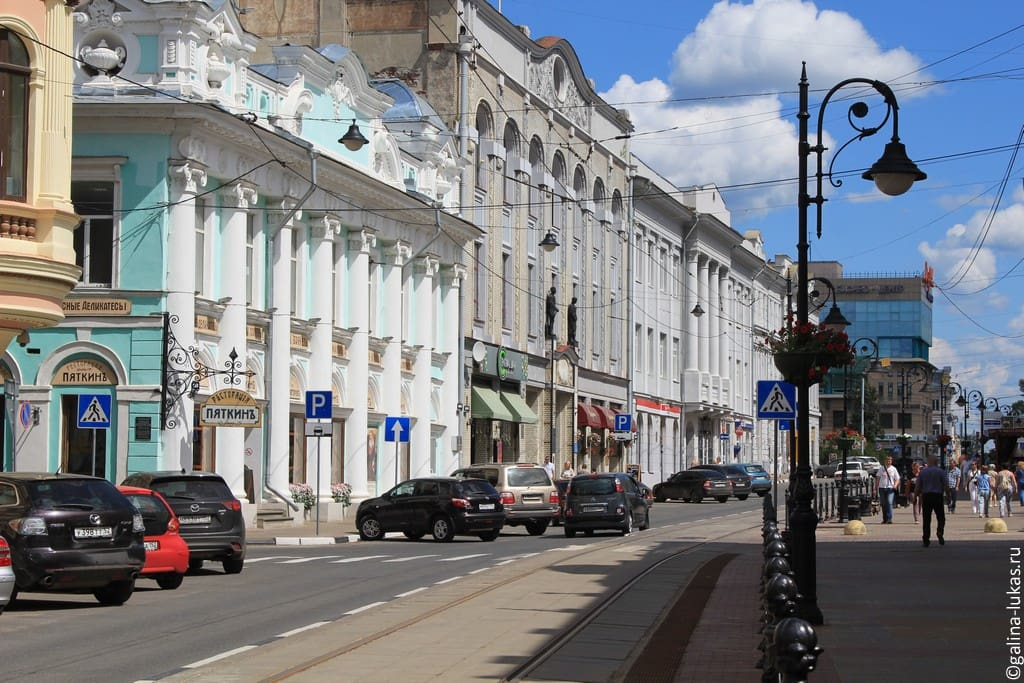 Одна из самых колоритных улиц города
