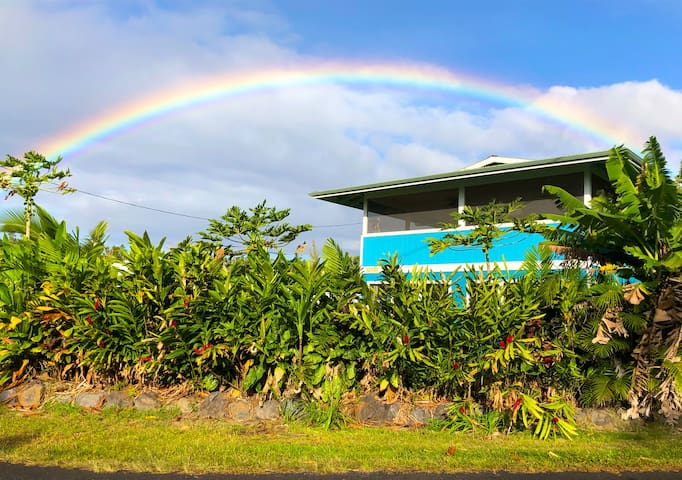 Yes... there really are sooo many rainbows  in our neighborhood!!