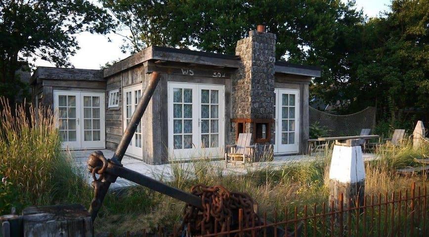 vakantie huis-strandhuis, bos - zee - strand
