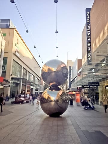 Rundle Mall - central shopping district just metres from your door
