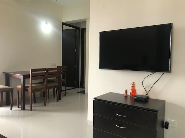 Furnished 2 BHK flat at prime location in Balewadi