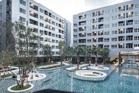 Near BTS 1BR Hi Speed(5G) WIFI @ Sukhumvit 64 - Bangkok - Wohnung