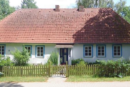 Ferienhaus mit großem Garten zur Alleinnutzung - Gischow
