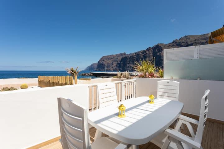 Casa la Tortuga, est un superbe en front de mer!!!