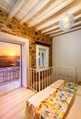 Thia-Maria Traditional Wood-Stone House