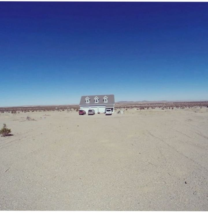 Off Grid house in the hi desert Route 66 CA.