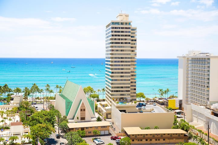 Your Home in the Heart of Waikiki w/Free Parking