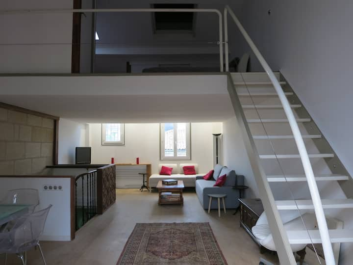 Chic et cosy appartement quartier Saint-Genès.