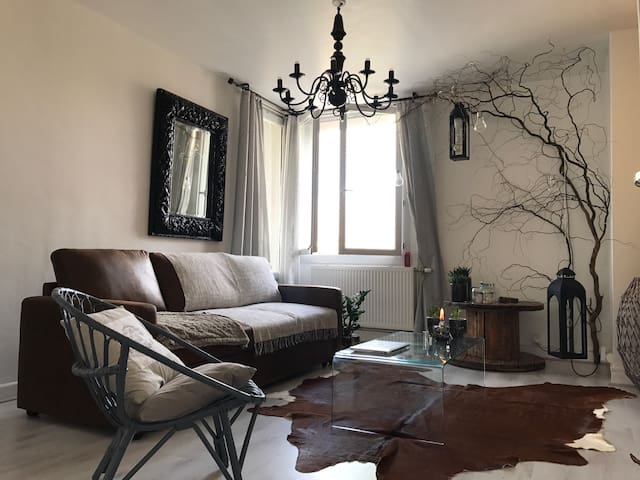 Chambre Privative avec Balcon - Saint-Étienne - Wohnung