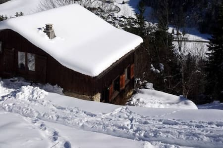 La Grangette à skis - Saint-Gervais-les-Bains