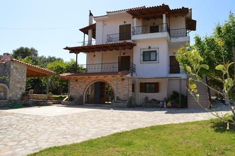 Ionian Sea Base Floor Villa Apartment at Kyllini