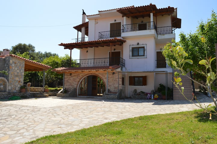 Ionian Sea Base Floor Villa Apartment at Kyllini