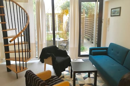 Private garden and silence downtown! Duplex - Lyon-6E-Arrondissement - Loft