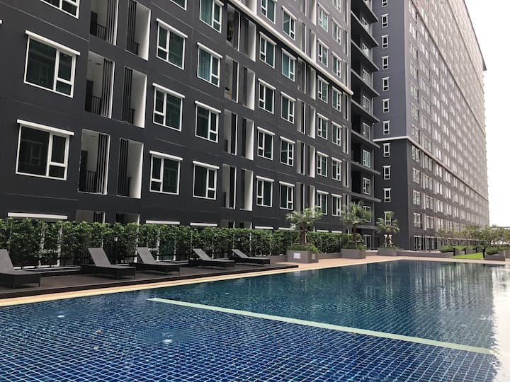 Brand New Room near MRT & Airport & Chatuchak