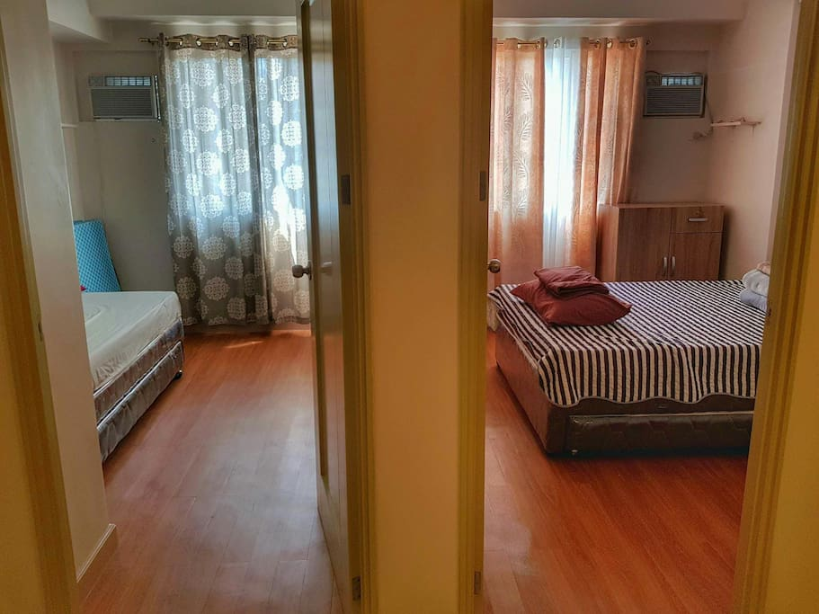 2 spacious bedrooms with additional pullout beds best for family and group of friends.