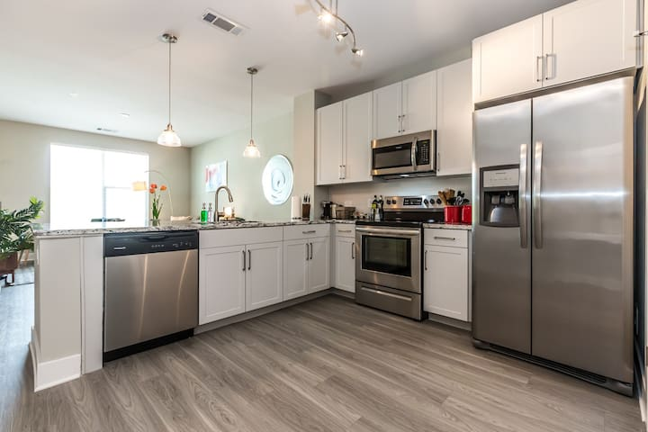 Kasa | King of Prussia | Sleek & Stylish 1BD/1BA Apartment