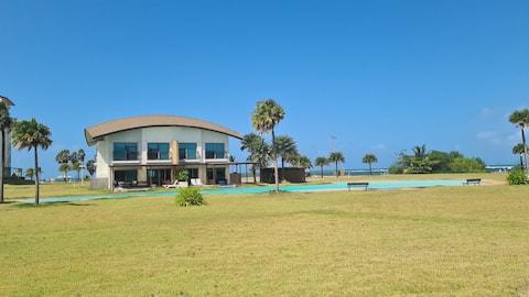 playa escondida! villa de playa