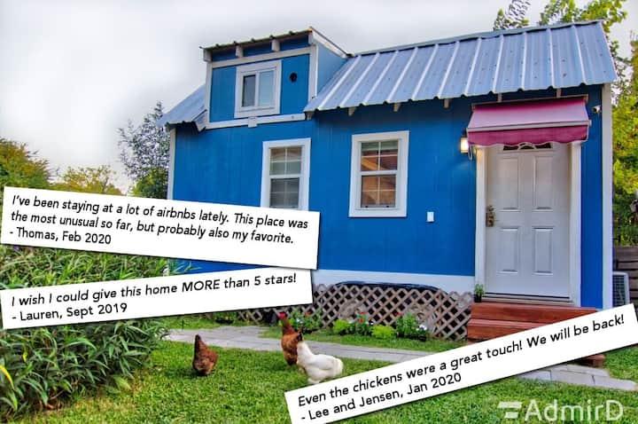 Tiny House w/ Free Fresh Eggs Midtown