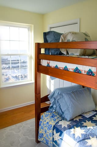 Bunk bedroom and bay view #5