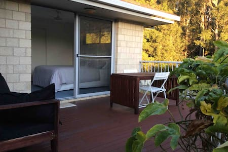 Private Studio , separate entrance & deck
