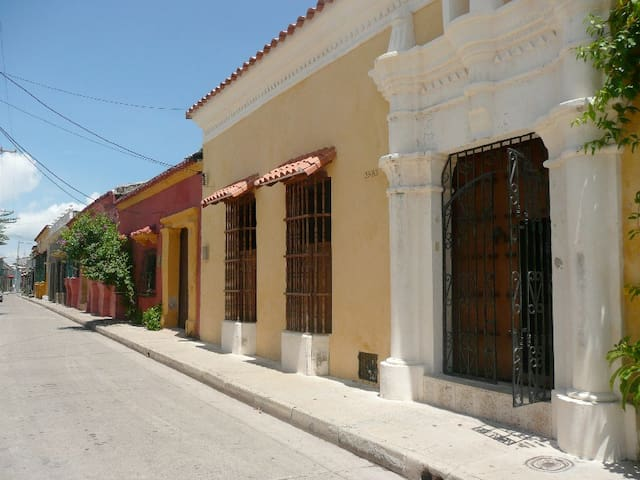 Colonial house in Getsemani - Cartagena - Hus