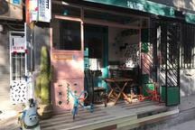 一楼我们的松鼠家咖啡店