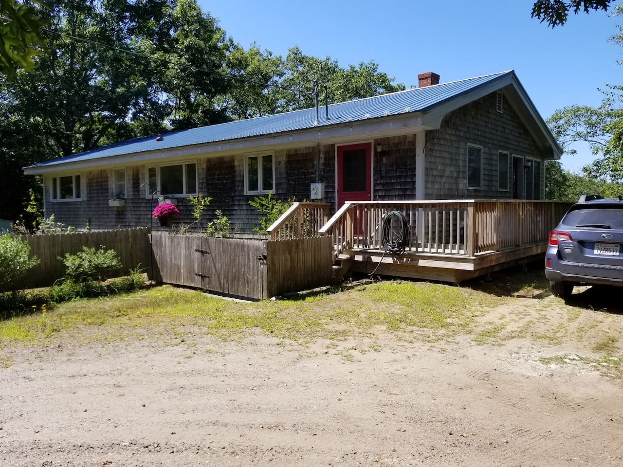 Our cottage on Todd Bay.