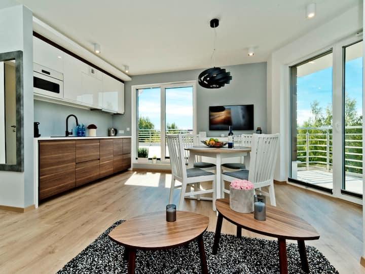 Loft with a spacious terrace C22