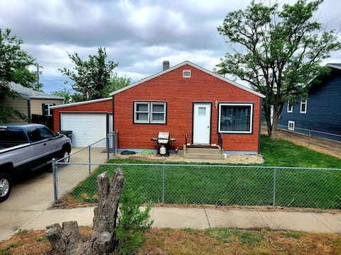Cozy two bedroom home in small town of Philip SD.