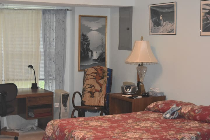 Saint Peters, MO.  Quiet, comfortable, private. - Saint Peters - Suite tamu