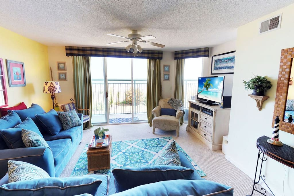 Oceanfront 3 Bedroom Condo In North Myrtle Beach Sleeps 8 Apartments For Rent In North