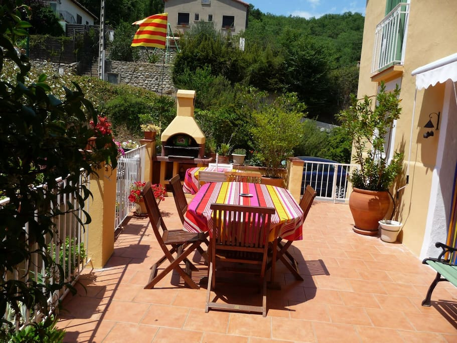 Terrasse de 32 m2 avec Barbecue