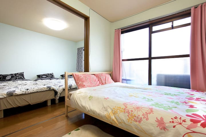 10min USJ 4person JR&Subway - Ōsaka-shi - Apartment
