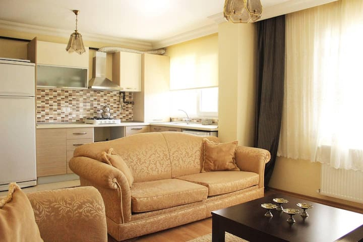 Engin Recep Ağa · Spacious Apt 2+1 Duplex Next to Airport (SAW)