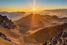 Sunrise at Mt Haleakala, Maui's dormant volcano