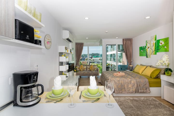Beautiful Well Equipped Apartment @Kata beach 900m