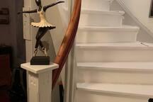 Trapp till övervåningen
